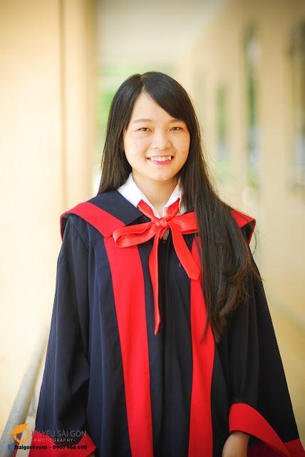 Cho thuê lễ phục tốt nghiệp tại HCM
