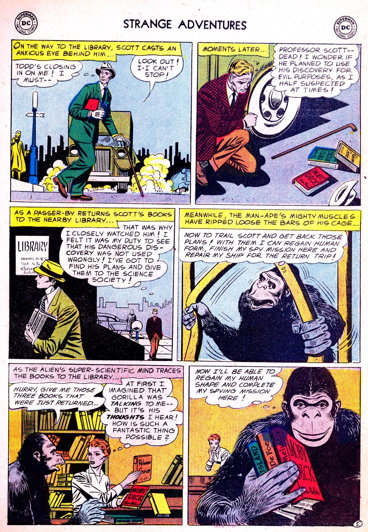Strange Adventures (1950) issue 75 - Page 7