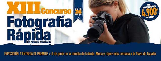 Las bases del  Concurso Fotográfico de Las Palmas de Gran Canaria 2018