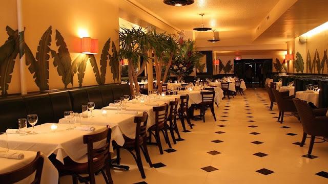 Estrutura do restaurante Indochine
