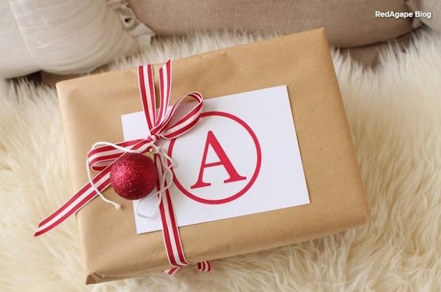 Kese kağıdından hediye paketi yapımı
