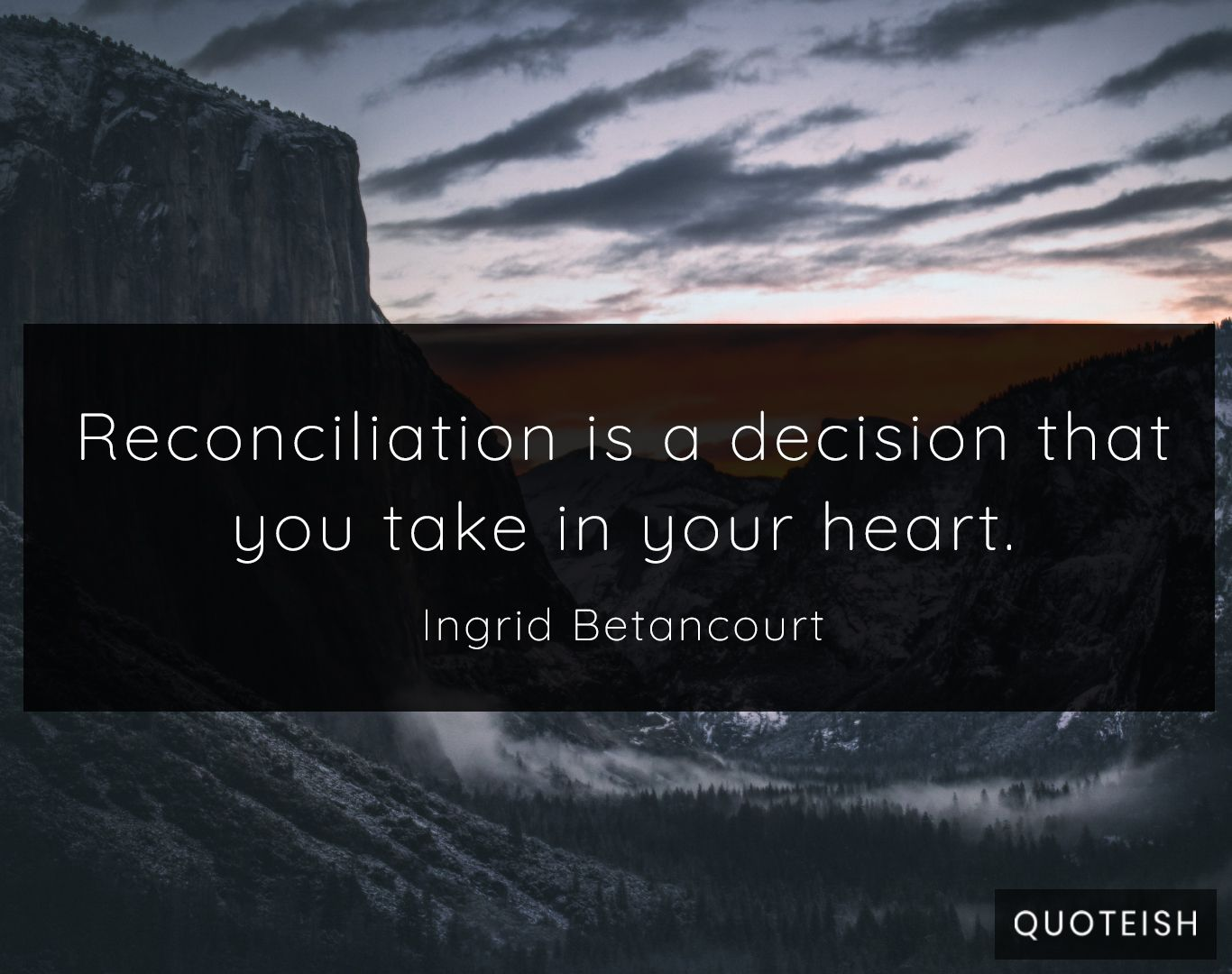 33 Reconciliation Quotes - QUOTEISH