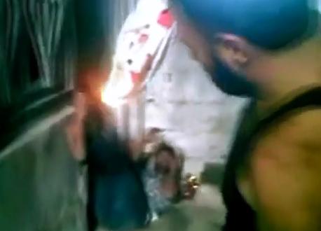 Torturado con Fuego