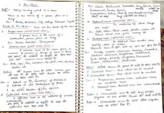 Paramount Coaching Centre English Grammar notes
