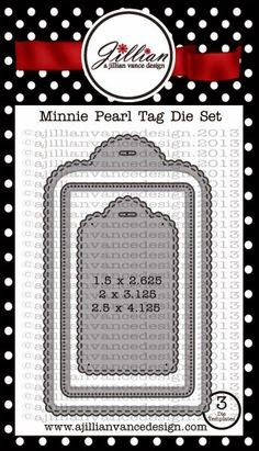Minnie Pearl Tag die set