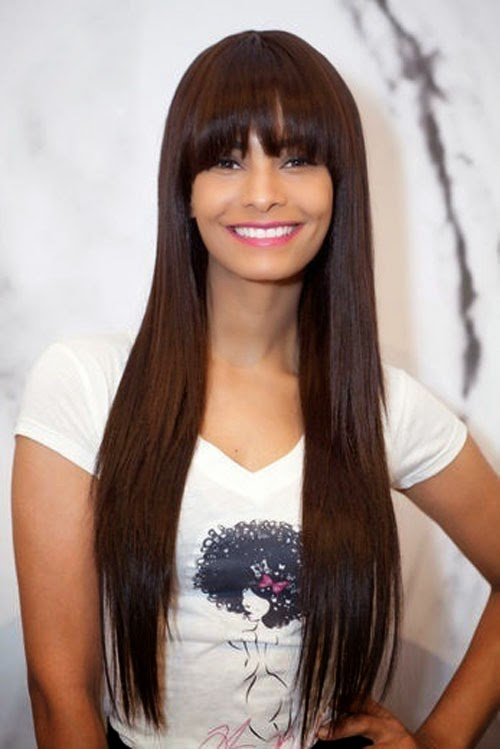 7 Cute Hairstyles For Long Hair With Bangs