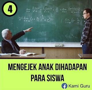 AWAS... 7 Kesalahan yang Sering Dilakukan Guru, Nomor 6 Parah Banget