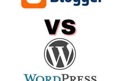 Pengalaman Ngeblog - Pilih Blogspot atau Worpress