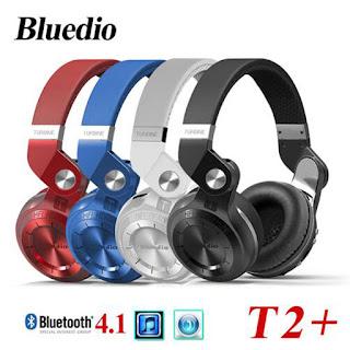 Headset Bluetooth Terbaik Murah 2018 Bluedio T2 Plus