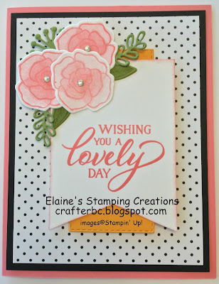 Stampin' Up! Forever Lovely Stamp Set and Lovely Flowers Dies