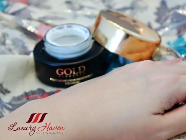 beauty blogger reviews gold elements skincare products