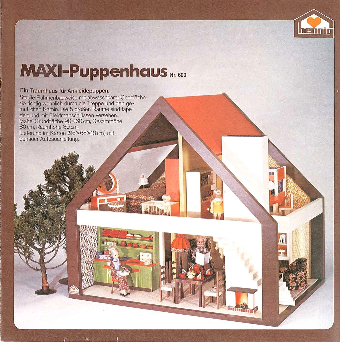 diepuppenstubensammlerin maxi puppenhaus 1977 bodo hennig maxi dollhouse. Black Bedroom Furniture Sets. Home Design Ideas