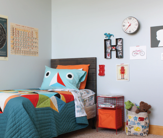 Big Bedroom: Christina Williams: Big Kid Bedroom