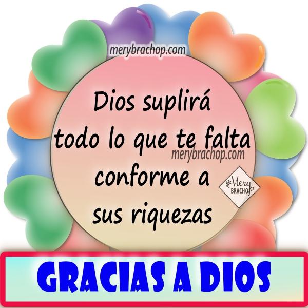 Frases de gracias a Dios por sus bendiciones, imágenes acción de gracias a Dios, thanksgiving por Mery Bracho