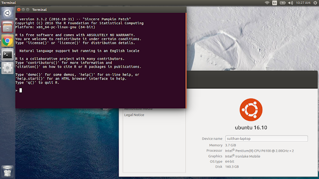 Installing R in Linux