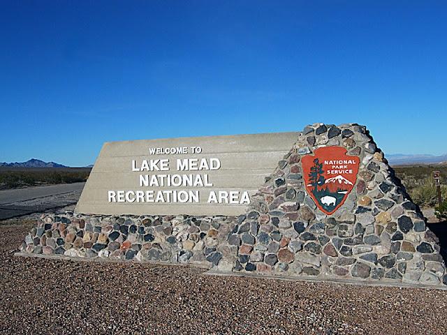 Lake Mead National Recreation Area em Las Vegas