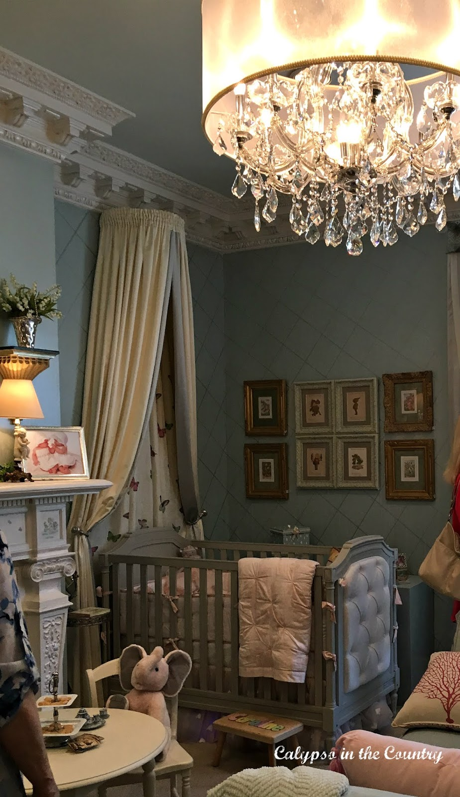 Nursery in a designer showhouse