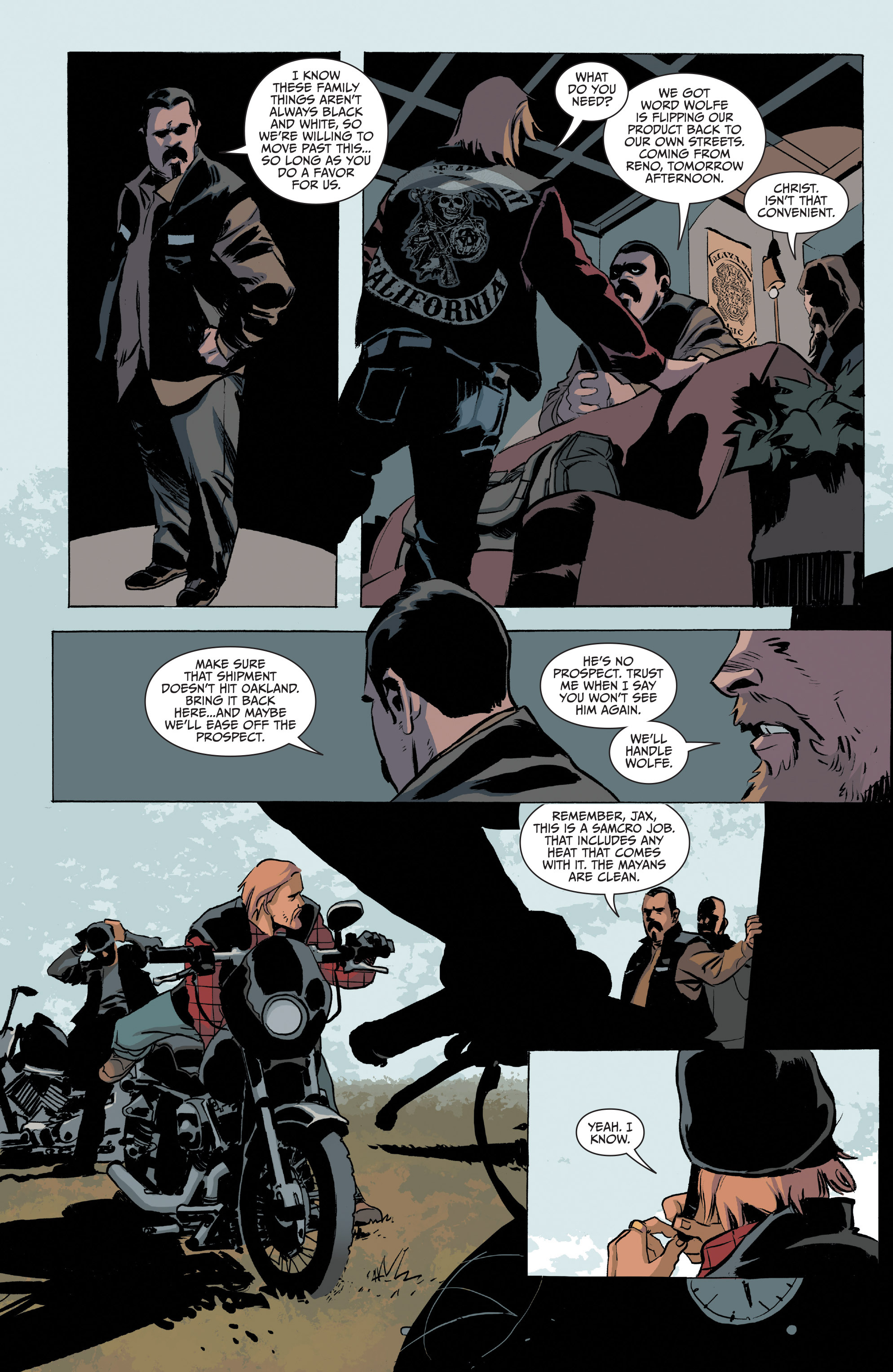 Read online Sons of Anarchy comic -  Issue #20 - 9