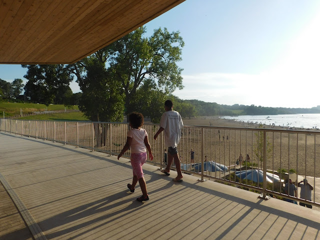 Top floor of Metroparks Edgewater Beach House