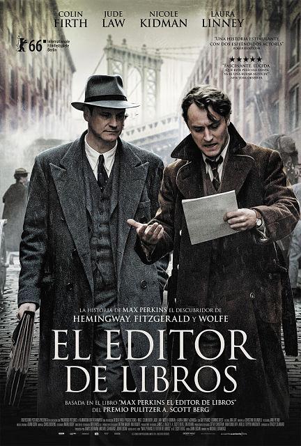 Cartel: El editor de libros (2016)