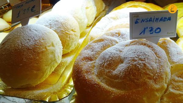 Coca de patata en Ca´n Molinas en Valldemossa