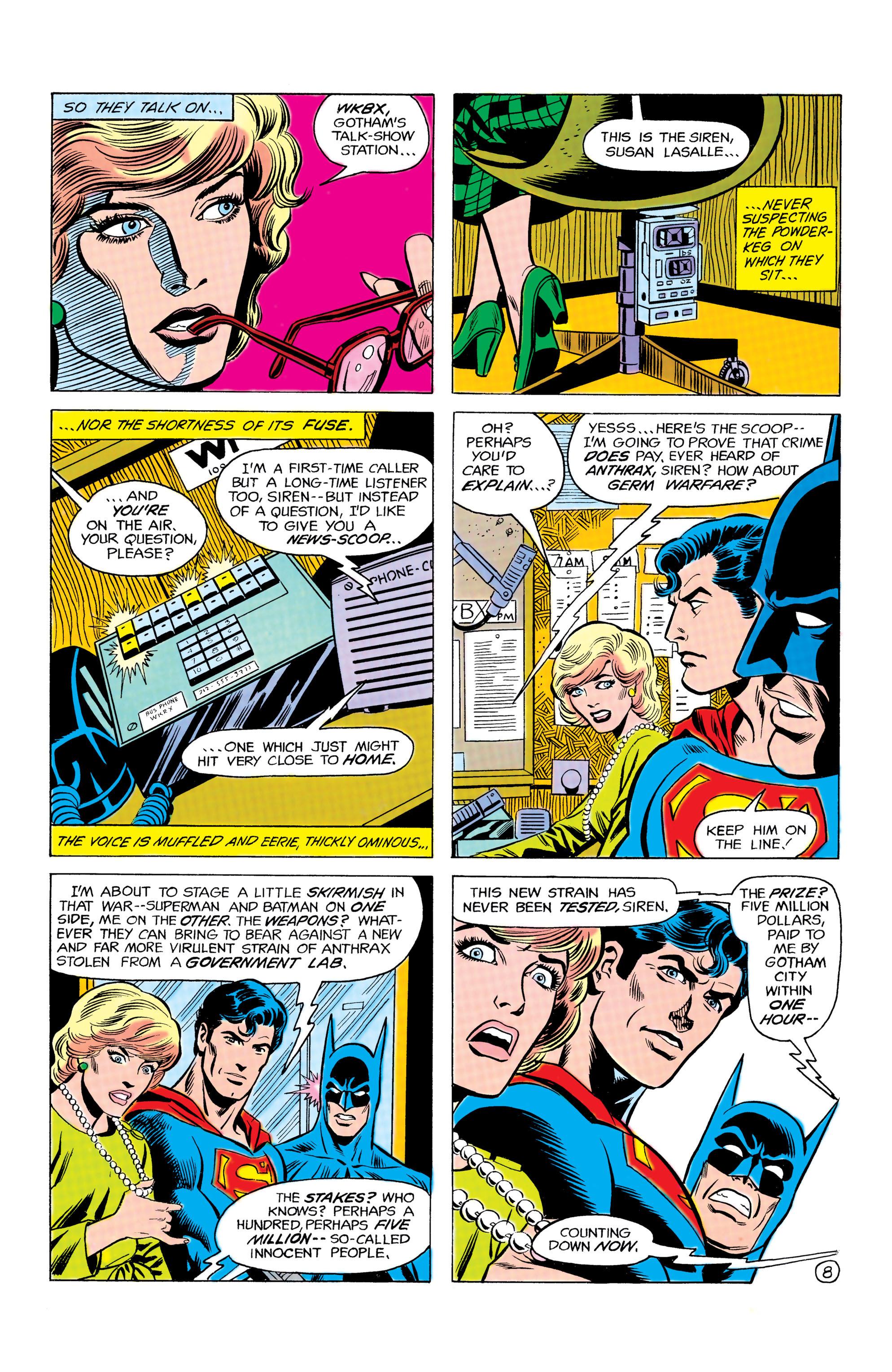 Read online World's Finest Comics comic -  Issue #292 - 9
