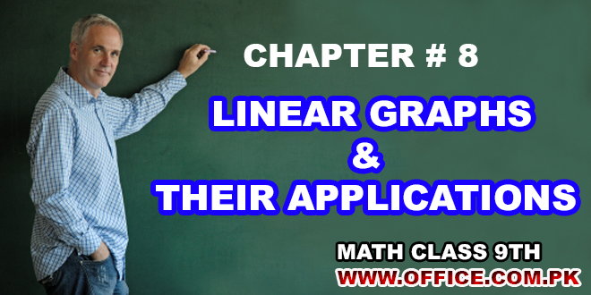 Chapter 8 Linear Graphs and Their Applications