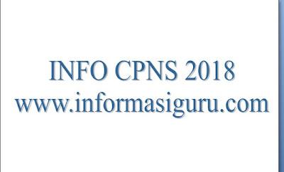 Pemerintah Belum Terbitkan  Pengumuman Resmi Rekrutmen CPNS Tahun Anggaran  Pemerintah Belum Terbitkan  Pengumuman Resmi Rekrutmen CPNS 2018