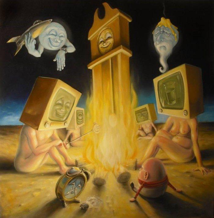 Поп-сюрреализм. Stephen Gibb