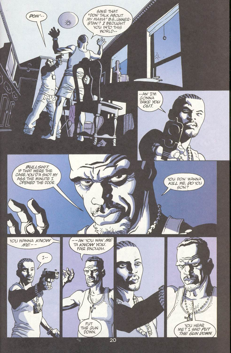 Read online 100 Bullets comic -  Issue #15 - 22