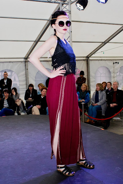 Hull Fashion week 2016 model