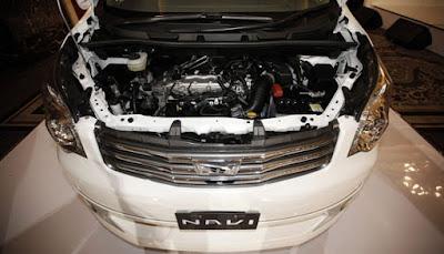 atau dibaca Nav One merupakan kendaraan MPV yang diproduksi oleh Toyota FITUR MESIN TOYOTA NAV1