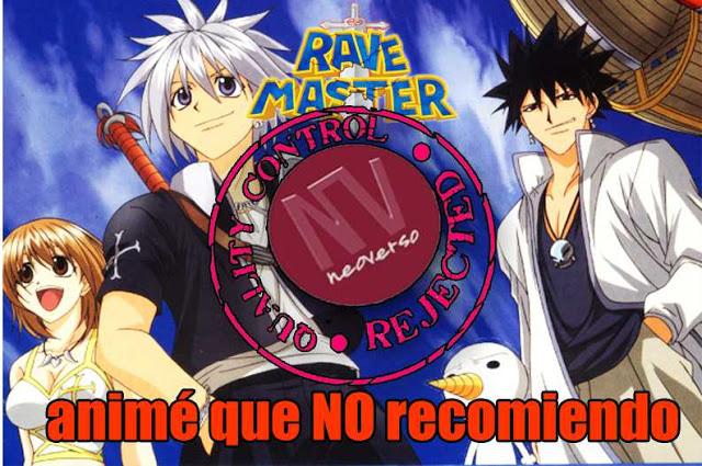 recomendacion anime rave master