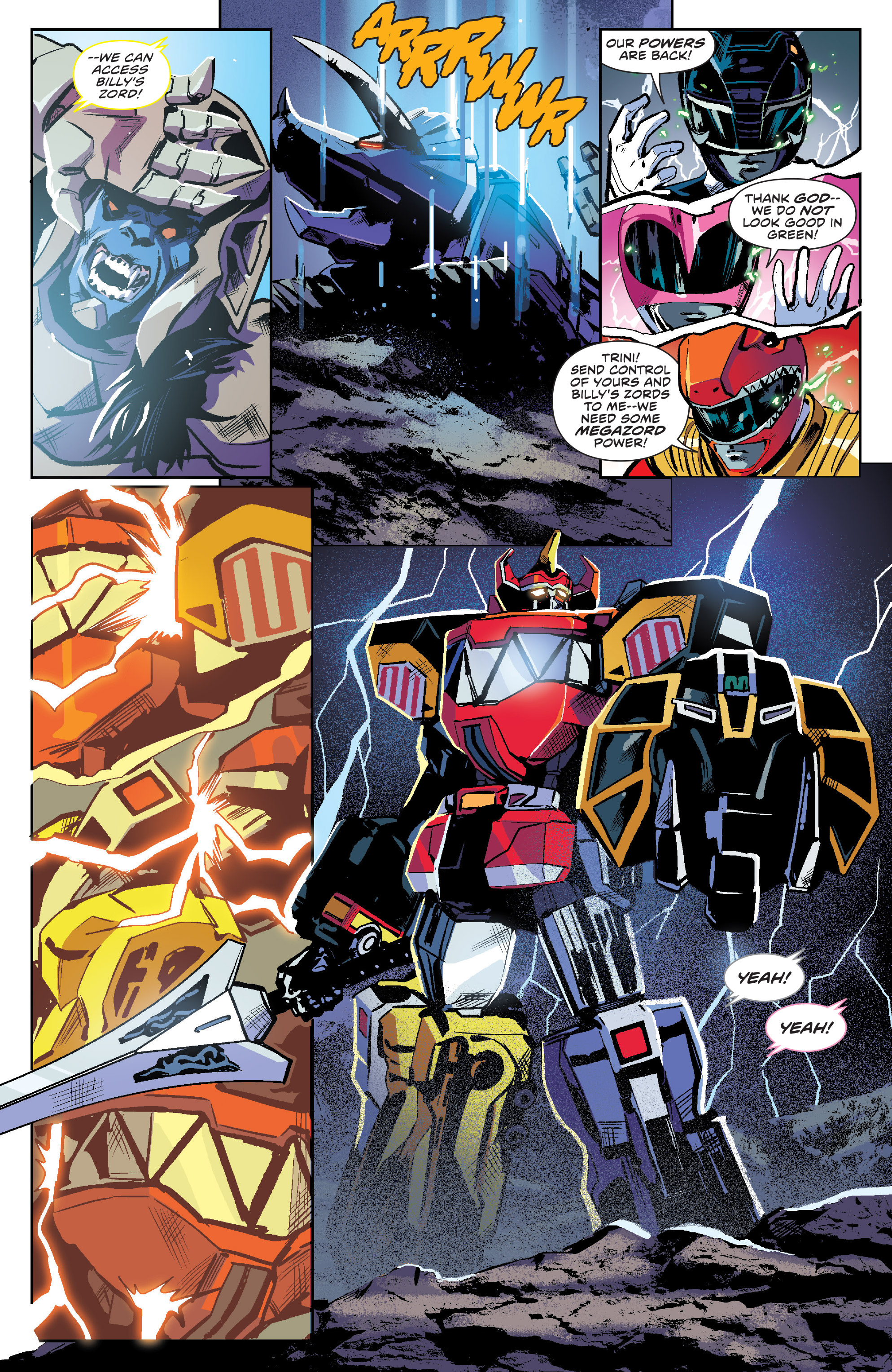 Read online Mighty Morphin Power Rangers comic -  Issue #16 - 7