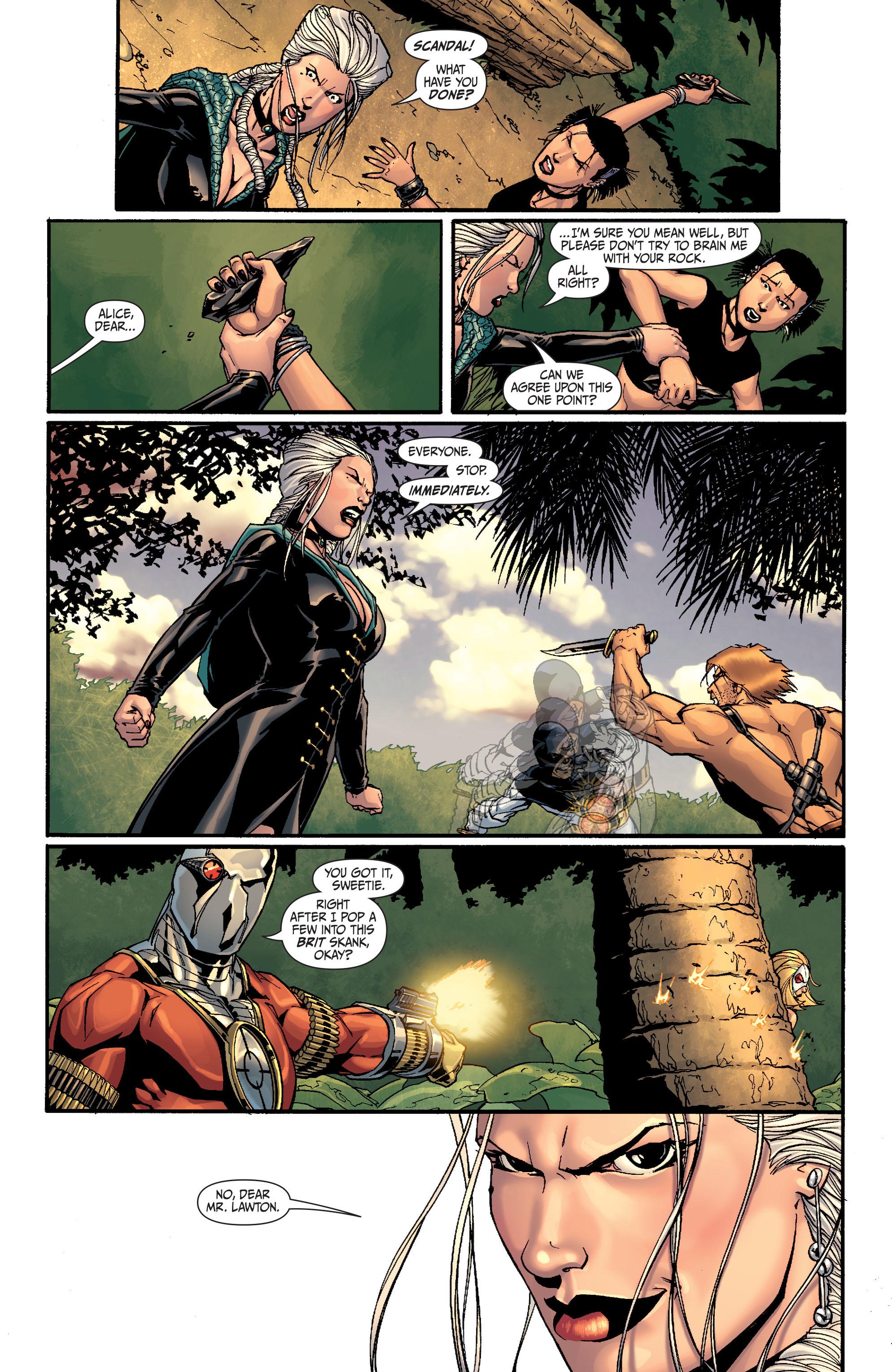 Read online Secret Six (2008) comic -  Issue #27 - 6