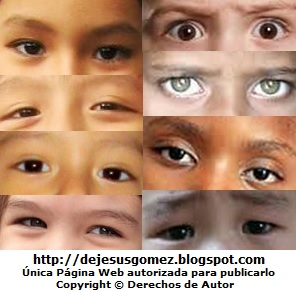 Imágenes de ojos de niños de Jesus Gómez