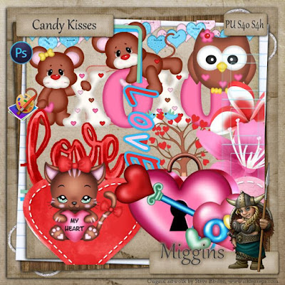 BNB Blog Train   Candy Kisses