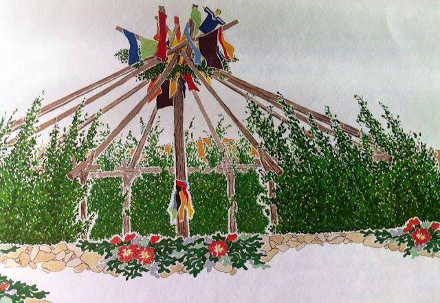 Sun Dance lodge structure