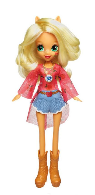 Legends of Everfree Character Doll Applejack Equestria grils MLP