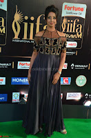 Sanjjanaa Galrani aka Archana Galrani in Maroon Gown beautiful Pics at IIFA Utsavam Awards 2017 10.JPG