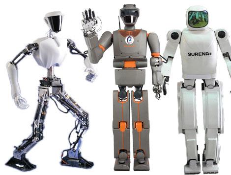 Ilustración de robots