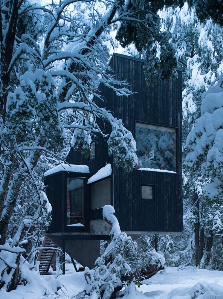 05-Plenty-of-Windows-to-Enjoy-Nature-DRAA-Architects-Shangri-La-Cabin-Architecture-in-the-Woods-www-designstack-co