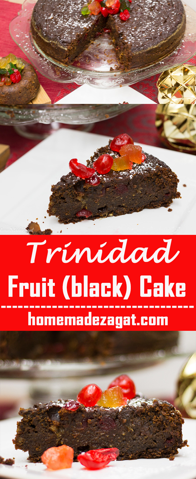 Fruit Cake Pour Brandy