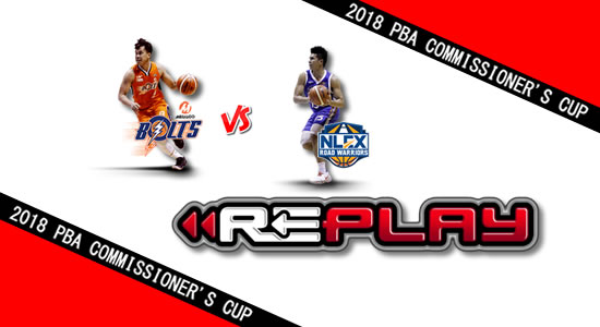 Video Playlist: Meralco vs NLEX game replay May 4, 2018 PBA Commissioner's Cup