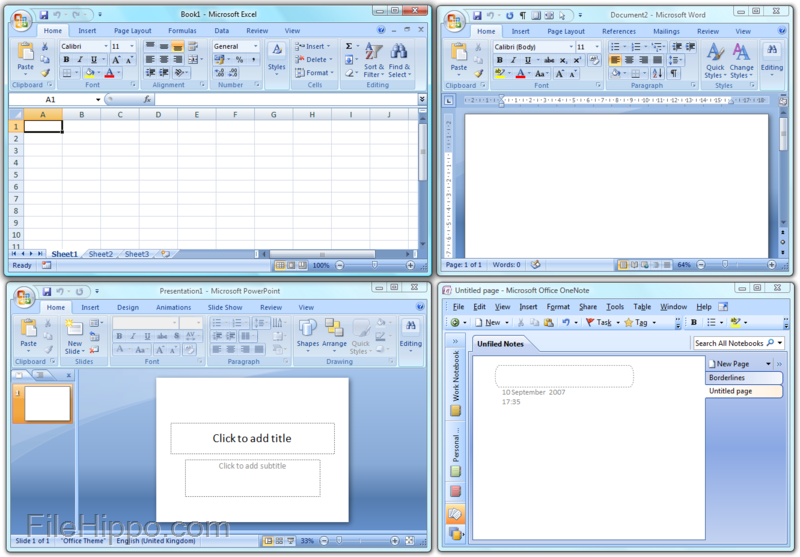 microsoft office 2007 full version free download for windows 10