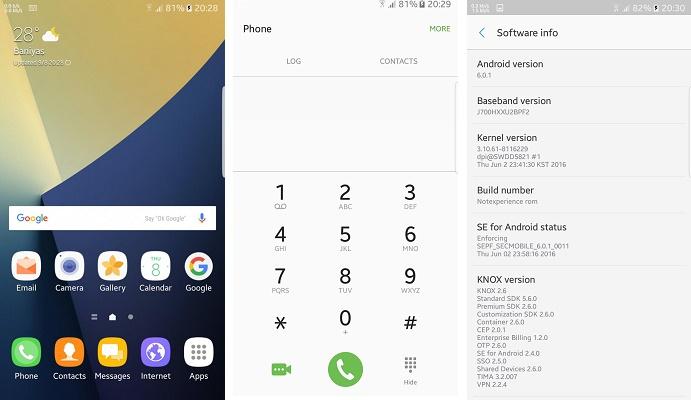 Samsung Galaxy J 7 2015 Note 7 Style Marshmallows 6 0 1 Fixed Rom