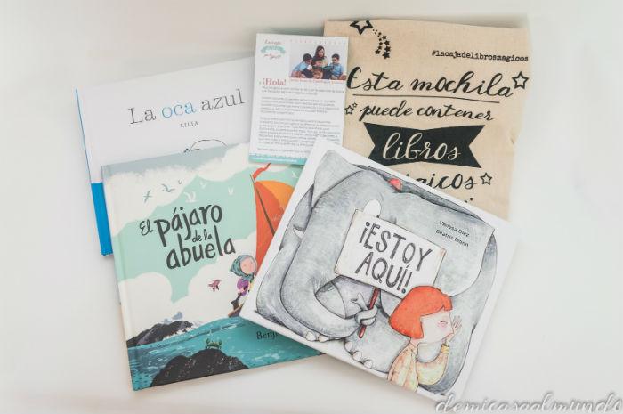 pack cuentos mágicos + curso + bolsa De mi casa al mundo