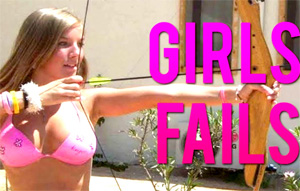 Girls Awesome Fails – FUNNY VIDEO