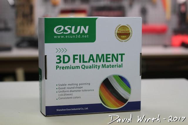 esun 3d filament, pla, pla+