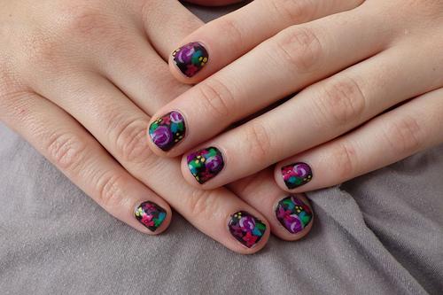 Beauty Best Nail Art: Freehand Nail Art Pattern Designs